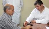 В госпитале Антиохийской Православной Церкви «Аль-Хосн» российские врачи провели благотворительный осмотр пациентов