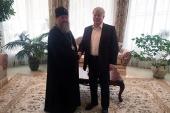 Глава Казахстанского митрополичьего округа и посол России в Казахстане обсудили вопросы религиозной жизни в республике