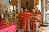 В православном храме Тегерана совершено архиерейское богослужение