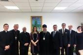 Состоялась встреча главы Казахстанского митрополичьего округа с руководством дипломатических миссий Евросоюза, Ватикана, Германии и Египта