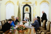 Святейший Патриарх Кирилл возглавил первое заседание Попечительского совета Костромского кремля