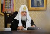 Святейший Патриарх Кирилл призвал выработать в Церкви механизм мобилизации верующих для участия в добрых делах
