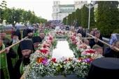В Почаевской лавре торжественно отметили день памяти преподобного Амфилохия Почаевского