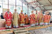 Патриарший экзарх всея Беларуси возглавил торжества в честь дня памяти святителя Кирилла Туровского