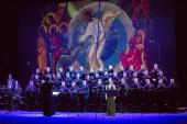 Хор духовенства Санкт-Петербургской митрополии выступил в Александринском театре