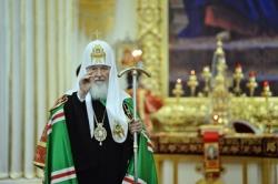 Проповедь Святейшего Патриарха Кирилла после Литургии в Троицком Измайловском соборе в Санкт-Петербурге