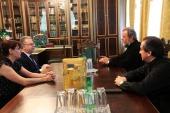 Митрополит Кишиневский Владимир встретился с новоназначенным послом Франции в Республике Молдова