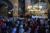 В Почаевской лавре состоялся III фестиваль пасхальных песнопений