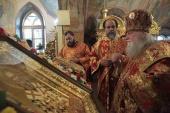 В Введенском Толгском монастыре прошли торжества, приуроченные к 30-летию прославления святителя Игнатия (Брянчанинова)