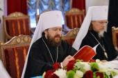 Митрополит Волоколамский Иларион: Все члены Священного Синода выразили поддержку канонической Украинской Православной Церкви