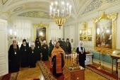 Участники заседания Священного Синода молитвенно почтили память митрополита Таллинского Корнилия и архиепископа Макаровского Илария