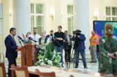 Председатель Синодального отдела по взаимоотношениям Церкви с обществом и СМИ провел брифинг по окончании заседания Священного Синода