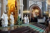 Проповедь Святейшего Патриарха Кирилла в праздник Вознесения Господня в Храме Христа Спасителя г. Москвы
