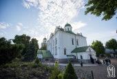В праздник Вознесения Блаженнейший митрополит Онуфрий возглавил престольные торжества во Флоровском монастыре украинской столицы