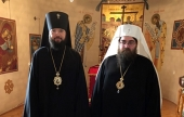 Предстоятель Чешских земель и Словакии встретился с руководителем Управления Московской Патриархии по зарубежным учреждениям