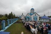 Патриарший наместник Московской епархии возглавил освящение храмового комплекса в подмосковной деревне Артемово