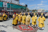 Многотысячный крестный ход состоялся в Новосибирске
