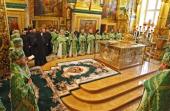 В Почаевской лавре прошли торжества по случаю дня памяти преподобного Иова Почаевского