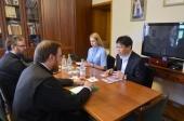 Cостоялась встреча заместителя председателя ОВЦС с полномочным министром Посольства Республики Корея