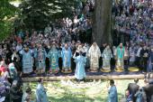 Патриарший экзарх всея Беларуси возглавил торжества по случаю праздника обретения Жировичской иконы Божией Матери