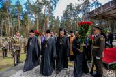 Блаженнейший митрополит Онуфрий почтил память жертв политических репрессий советского периода