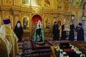 Проповедь Святейшего Патриарха Кирилла в канун дня памяти свт. Николая в храме святителя Николая Мирликийского в Покровском
