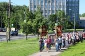 Из Киева в Москву принесена чудотворная икона Божией Матери «Призри на смирение»