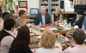 Председатель Синодального отдела по благотворительности посетил Первый московский хоспис имени Веры Миллионщиковой