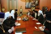 Святейший Патриарх Кирилл встретился с Предстоятелем Сербской Православной Церкви