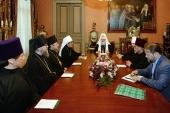 Святейший Патриарх Кирилл встретился с митрополитом Токийским и всей Японии Даниилом