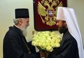В Москву прибыл Сербский Патриарх Ириней