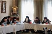 В Донском монастыре прошло совещание игуменов и игумений монастырей Русской Православной Церкви