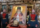 Завершилось пребывание ковчега с частицей мощей святителя Луки (Войно-Ясенецкого) в Москве