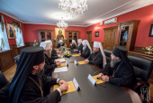 Блаженнейший митрополит Онуфрий возглавил работу очередного заседания Синода Украинской Православной Церкви