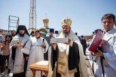 В Элисте заложен кафедральный собор в честь святых равноапостольных Кирилла и Мефодия