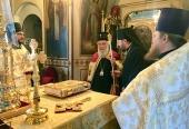 Святейший Патриарх Сербский Ириней посетил подворье Сербской Православной Церкви в Москве