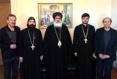Иерарх Коптской Церкви посетил Отдел внешних церковных связей