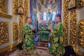 В праздник Святой Троицы (Пятидесятницы) Блаженнейший митрополит Онуфрий возглавил богослужение в Киево-Печерской лавре