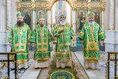 Архипастыри Белорусского экзархата возглавили престольный праздник в Свято-Духовом кафедральном соборе Минска