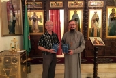 Президент Сирийского Библейского общества посетил Представительство Русской Православной Церкви в Дамаске
