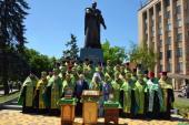 Памятник праведному Петру Калнышевскому открыт в Кривом Роге
