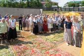 Храм в честь иконы Божией Матери «Всецарица» заложен в столице Белоруссии