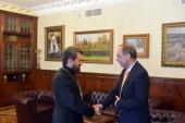 Состоялась встреча председателя ОВЦС с послом Болгарии в России