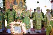 Торжества по случаю 20-летия прославления святого Иоанна Кормянского прошли в Гомельской области
