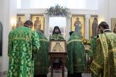В Николо-Угрешской семинарии совершен молебен по случаю 150-летя крещения равноап. Николаем первых обратившихся в Православие японцев