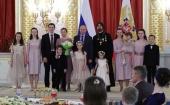 Президент России наградил орденом «Родительская слава» семьи многодетных священников