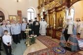 Патриарший наместник Московской епархии освятил храм великомученика Георгия Победоносца в Дедовске