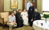 Почетный Патриарший экзарх всея Беларуси награжден медалью священномученика Владимира Хираско I степени