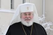 Поздравление Святейшего Патриарха Кирилла Архиепископу Хельсинскому Льву с 70-летием со дня рождения