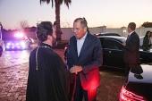 Министр иностранных дел России посетил храм преподобного Сергия Радонежского в ЮАР
